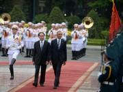 Tin tức trong ngày - Toàn cảnh lễ đón Tổng thống Obama tại Phủ Chủ tịch