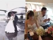 Bạn trẻ - Cuộc sống - Chú rể TQ chơi trội rước dâu bằng chuyên cơ hạng sang