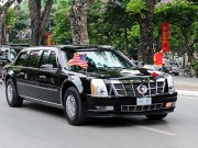 """Ô tô - Xe máy - [Infographic] Chi tiết siêu xe """"Quái thú"""" chở ông Obama"""