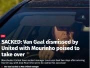 Bóng đá - NÓNG: Van Gaal đã bị MU sa thải