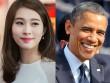 """HH Thu Thảo """"mừng và lo"""" vì được gặp Tổng thống Obama"""