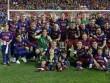 Lỡ cúp C1, lập cú đúp quốc nội: Barca vẫn vĩ đại