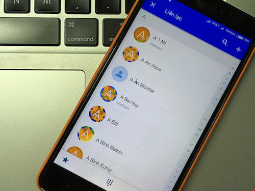 2 cách phục hồi danh bạ đã xóa trên smartphone - 1