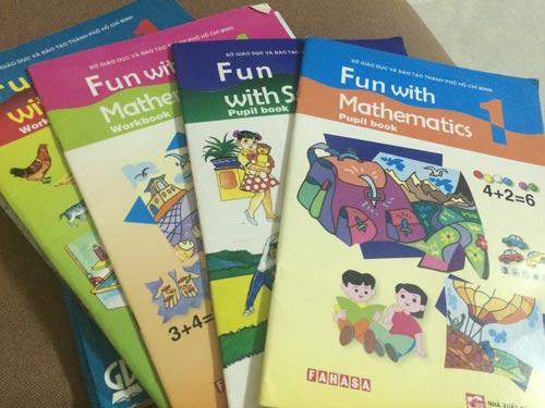 Thay sách tiếng Anh tiểu học xoành xoạch - 1