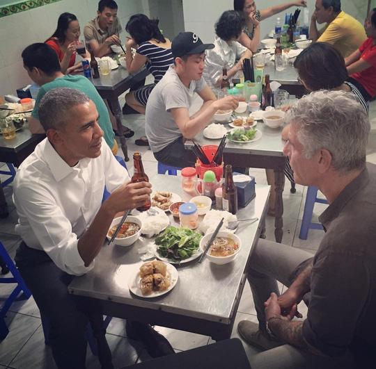 Bữa bún chả của Tổng thống Obama ở Hà Nội giá bao nhiêu - 1
