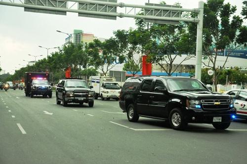 Tổng thống Obama đến TP.HCM - 45
