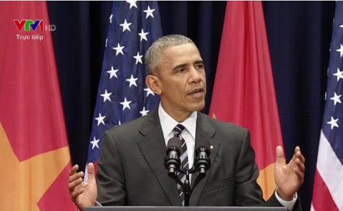 Clip toàn văn bài phát biểu của Tổng Thống Obama tại Hà Nội - 1
