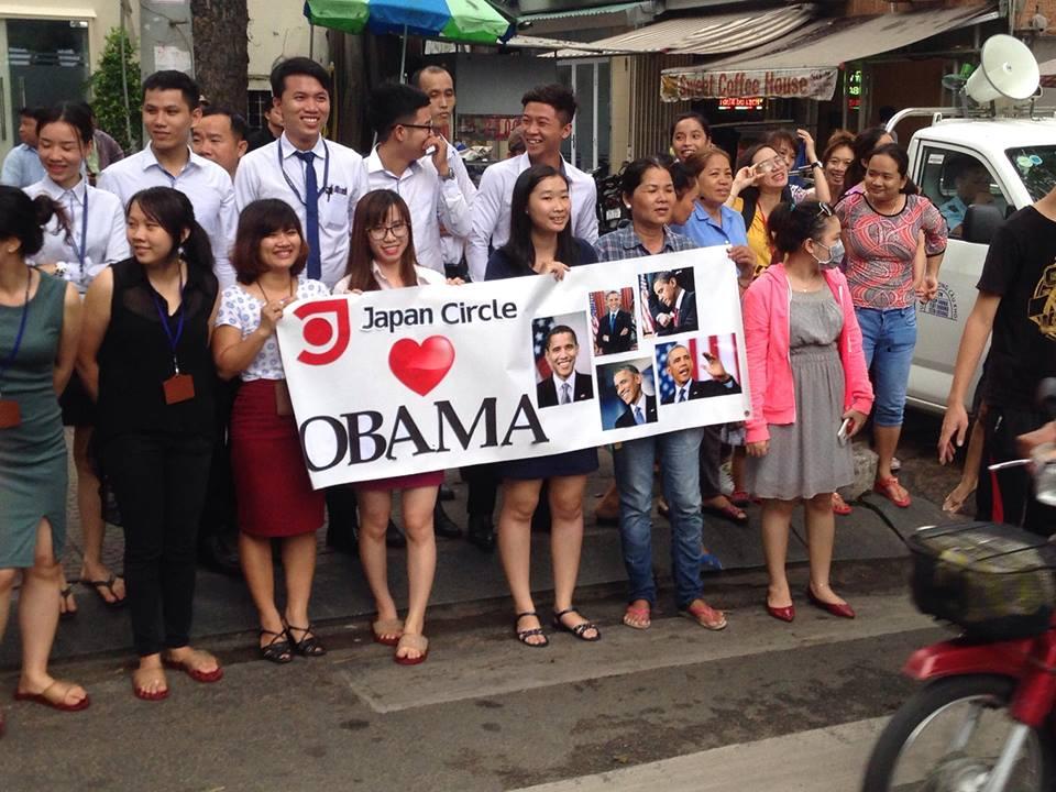 Tổng thống Obama đến TP.HCM - 19
