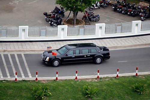 Trực tiếp Obama đến TPHCM - 11