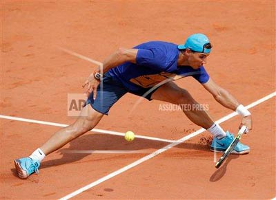 Chi tiết Nadal - Sam Groth: Đụng phải khắc tinh (KT) - 3