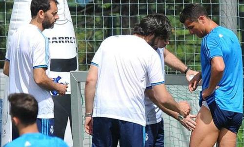 Ronaldo chấn thương - 2