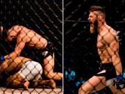 """Thể thao - MMA: Tung seri đấm 45 giây, hạ """"Người khổng lồ"""""""