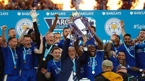 Vô địch NHA, Leicester được thưởng tiền ít hơn Arsenal - 1