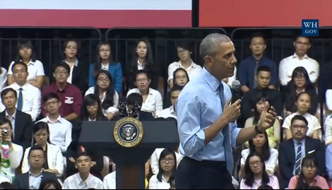 Obama đến Việt Nam - 6