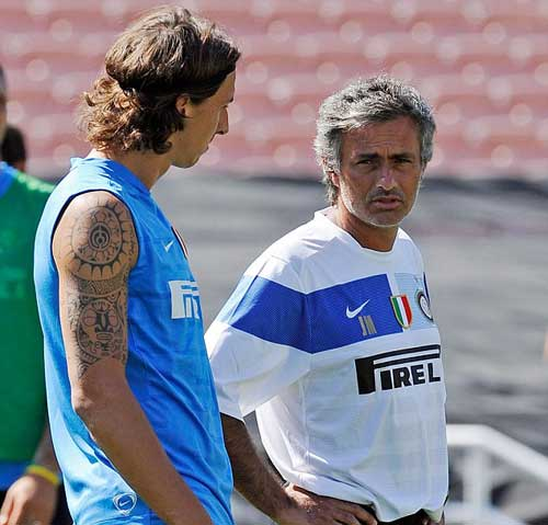 """MU: Chỉ có Mourinho mới """"xứng"""" làm thầy của Ibra - 1"""
