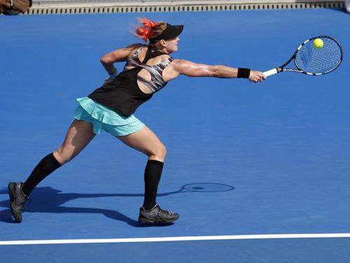 """Roland Garros: Trang phục """"Ngựa vằn"""" xấu điên đảo - 3"""