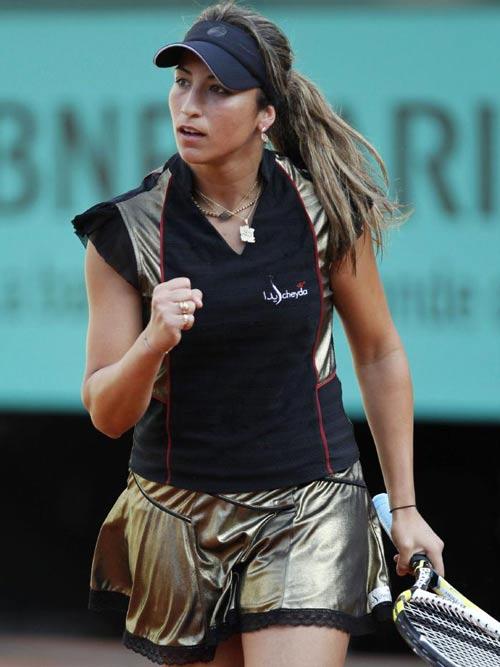 """Roland Garros: Trang phục """"Ngựa vằn"""" xấu điên đảo - 7"""
