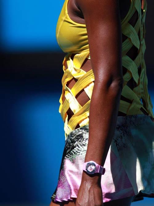"""Roland Garros: Trang phục """"Ngựa vằn"""" xấu điên đảo - 10"""