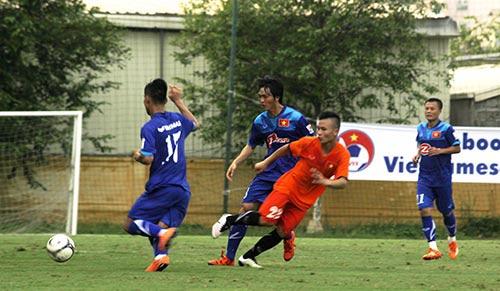 ĐT Việt Nam bị đàn em U21 cầm hòa không bàn thắng - 3