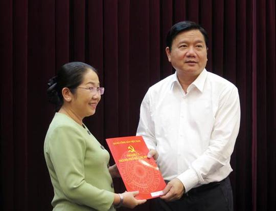 Bà Võ Thị Dung làm Phó Bí thư Thành ủy TP HCM - 1