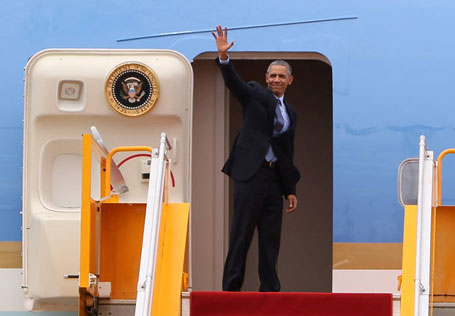 Câu nói cuối cùng của TT Obama trước khi rời Việt Nam - 1
