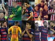 Bóng đá - Barca & 10 trận đấu khó quên ở mùa giải 2015/16