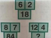 Giáo dục - du học - Bài toán hóc búa: Tìm quy luật để điền số thích hợp vào dấu ?