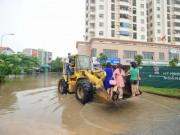 Tin tức trong ngày - Tối 24.5, Hà Nội mưa lớn gấp đôi trận ngập lịch sử 2008