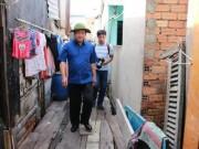 """Video An ninh - Bí thư Thăng thị sát """"khu ổ chuột"""" ven kênh Sài Gòn"""