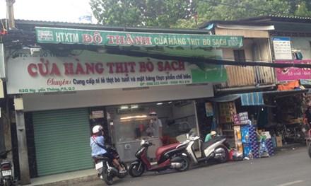 Nở rộ cửa hàng thịt bò sạch... tự phong - 1