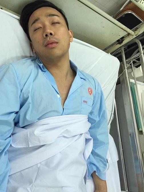 Hinh anh Tran Thanh met moi bo pho trong hau truong - 15