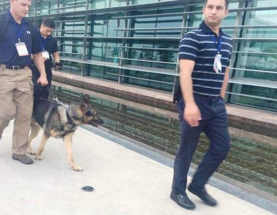 Chó nghiệp vụ theo bảo vệ TT Obama mang hàm Đại úy - 2