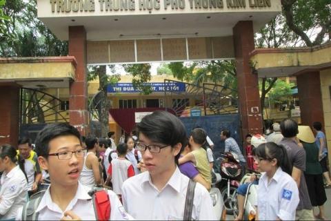 Thí sinh không có hộ khẩu ở Hà Nội đăng ký dự thi lớp 10 ở đâu? - 1
