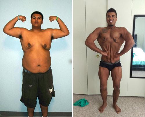 Suýt chết vì béo lột xác thành VĐV xuất sắc - 1