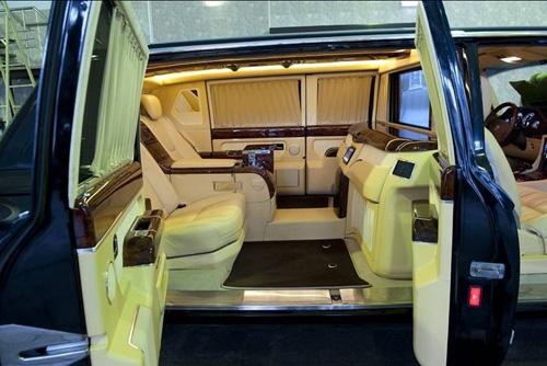Sốc với giá bán mẫu xe siêu sang của Tống thống Nga - 3