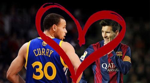 """""""Chuyện tình"""" của Messi với """"Messi bóng rổ"""" - 1"""