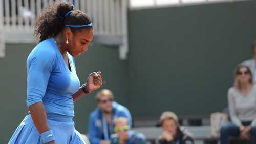 Roland Garros ngày 5: Serena siêu tốc vào vòng 3 - 1
