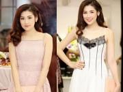 Á hậu Tú Anh xinh đẹp nổi bật với váy ren cotton