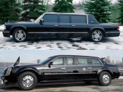 """Ô tô - Xe máy - So sánh xe """"Quái thú"""" của Obama và siêu xe của Putin"""