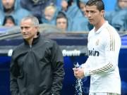 Bóng đá - Ronaldo đánh giá cao Mourinho, chê Van Gaal