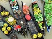 Du lịch - Một ngày lênh đênh trên chợ nổi Ngã Năm