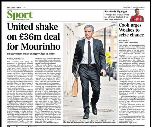 CHÍNH THỨC: Mourinho trở thành HLV trưởng MU - 7