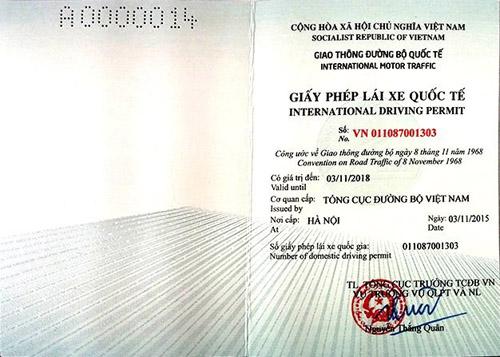 Người dân đã có thể xin cấp Giấy phép lái xe quốc tế tại nhà - 2