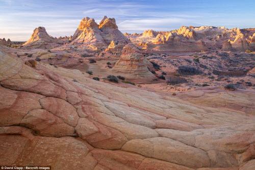 Những địa danh đẹp ngoạn mục như trên hành tinh lạ ở Mỹ - 11