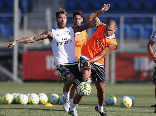 Real & CK cúp C1: Cặp đôi hoàn hảo Ramos - Pepe - 1