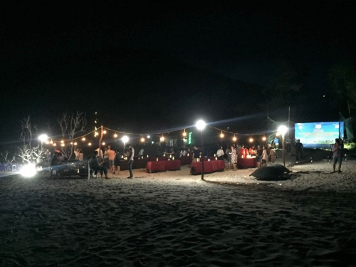 Chơi đêm trên đảo Quan Lạn - 1