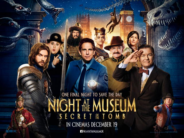 Trailer phim: Night at the Museum: Secret of the Tomb - 1