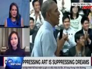 Video An ninh - Báo quốc tế khen màn đọc rap của Suboi trước TT Obama
