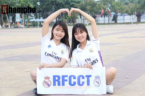 Fan Real ở Việt Nam quyết nhuộm trắng chung kết Cup C1 - 7