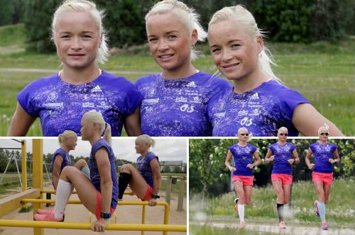 Olympic: Chị em sinh ba lập kỉ lục vô tiền khoáng hậu - 1